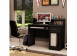Small Desk in Solid Black - South Shore Furniture - 7270076C