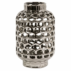 Small Honeycomb Cutwork Lantern - IMAX - 64095