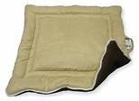 Small Size Cozy Pet House Pad in Tan / Brown - NewAgeGarden - MAT101S