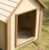 Small Size Dog House Flap Door in Clear - NewAgeGarden - DOOR001S