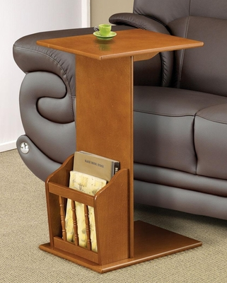 Snack Table with Magazine Rack - 900290