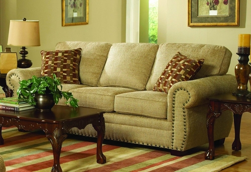 Sofa 8-Way-Hand-Tied in Hazelnut Chenille - 9836CN-3