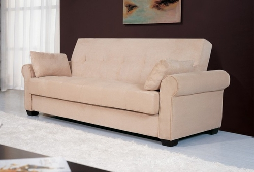 Sofa Bed Convertible in Beech - Roxbury - CC-ROX-JH-SET