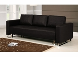 Sofa Bed Convertible in Dark Brown - Lincoln Park - BA-LCP-FA-DB