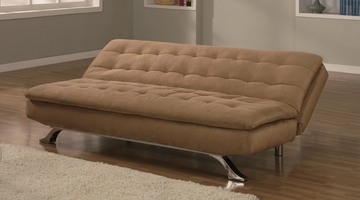 Sofa Bed Convertible in Hazelnut - Alena - SA-ALE-P2S-HN
