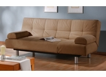 Sofa Bed Convertible in Khaki - Aruba - CC-ARB2-D2-KH