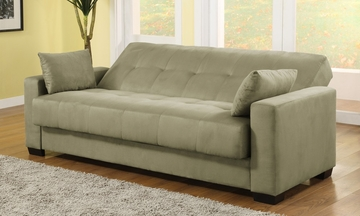 Sofa Bed Convertible in Olive - Napa - CA-NPA-OV-SET