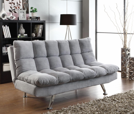 Sofa Bed Futon in Grey - 500775