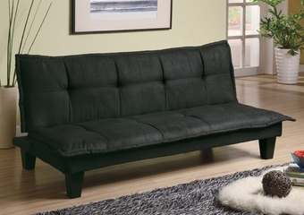 Sofa Bed in Dark Gray and Black - Coaster - 300238