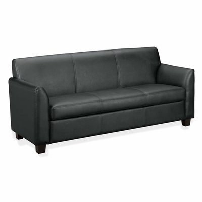 Sofa - Black Leather - BSXVL873ST11