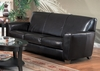 Sofa in Dark Brown Leather - Coaster