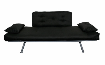 Sofa / Lounger with All-Black Cover - Mali Collection - 55-6118-BLK