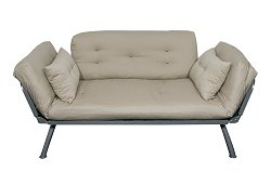 Sofa / Lounger with All-Khaki Cover - Mali Collection - 55-6118-KHA