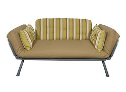 Sofa / Lounger with Urban Dweller Stripe Cover - Mali Collection - 55-6118-UDS