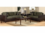 Sofa / Loveseat Set in Sage - F7596