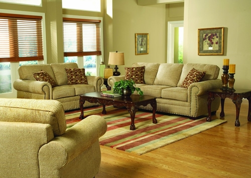 Sofa Set 8-Way-Hand-Tied in Chenille - 9836CN-SET