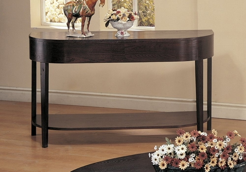 Sofa Table in Cappuccino - Coaster - COAST-139421