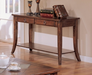 Sofa Table in Medium Oak - Coaster