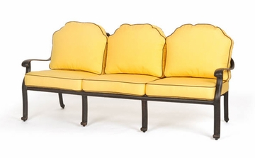 Sofa with Seat and Back Cushions - Florence - Caluco - C777-23-SET