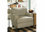 Sofab Angel Chenille Fabric Chair in Pewter - 1080S
