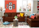 Sofab Lass Sofa and Loveseat 2 Piece Set - 1293M