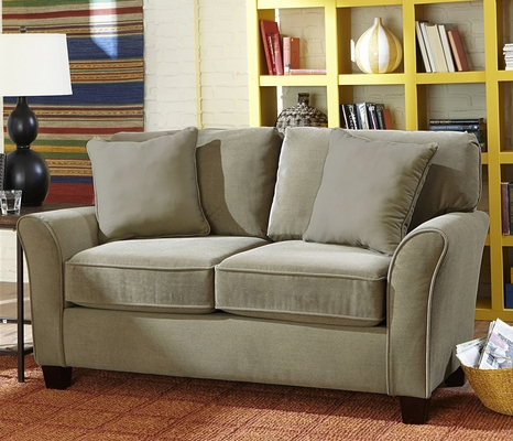 Sofab Muse Loveseat with Flair Arm - 1298M