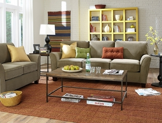 Sofab Muse Sofa and Loveseat Set - 1298M