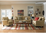 Sofab Shag 3PC Living Room Set in Prairie - 1289M