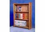 Solid Oak 120 DVD Multimedia Cabinet - 307