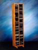 Solid Oak 160 CD Storage Tower - 209-4