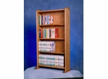 Solid Oak 160 DVD Multimedia Cabinet - 407