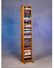 Solid Oak Storage Tower  - 108-4VHS