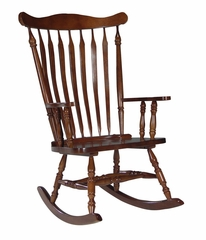 Solid Wood Rocker in Cherry - R06-120