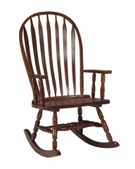 Solid Wood Rocker in Cherry - R06-180