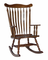 Solid Wood Rocker in Cottage Oak - R48-120