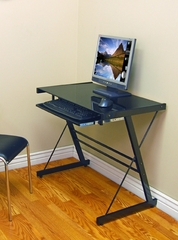 Solo Desk in Black - D31S29B