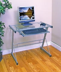 Solo Desk in Silver - D31S29