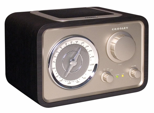 Solo Tabletop Radio in Black - Crosley - CR221-BK