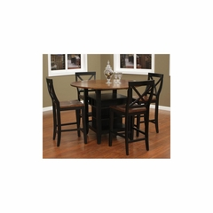 Somerset 5pc Two Toned Dining Set - American Hertiage - AH-713671