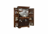 Sonoma Hide-A-Bar Cabinet in Americana Cherry - Howard Miller