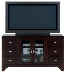 "Sonoma Merlot 52"" TV Stand with 6 Drawers - 044-9"