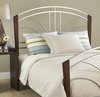 Sorrento Full/Queen Size Headboard with Frame in Light Cherry - Hillsdale Furniture - 1591HFQR