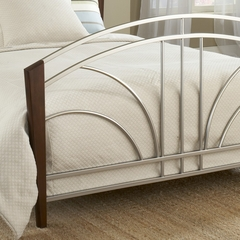 Sorrento Full Size Bed in Light Cherry - Hillsdale Furniture - 1591BFR