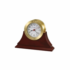 South Pier Table Clock in Cherry - Howard Miller