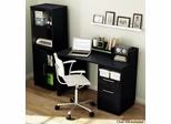 South Shore Academic Computer Desk and Bookcase Set - 7247795