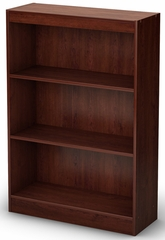 South Shore Axess Bookcase with 3 Shelves in Royal Cherry - 7246766C