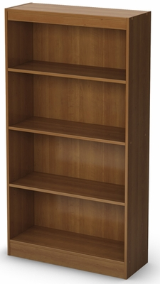 South Shore Axess Morgan Cherry Bookcase with Four Shelves - 7276767C