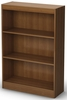 South Shore Axess Morgan Cherry Bookcase with Three Shelves - 7276766C