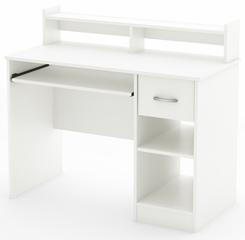 South Shore Axess Pure White Computer Desk - 7250076