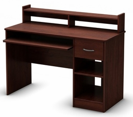 South Shore Axess Royal Cherry Computer Desk - 7246076